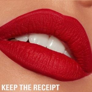 kylie keep the receipt mini lippie